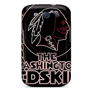 Zheng caseAbrahamcc Perfect Tpu Case For Galaxy S3/ Anti-scratch Protector Case (washington Redskins)