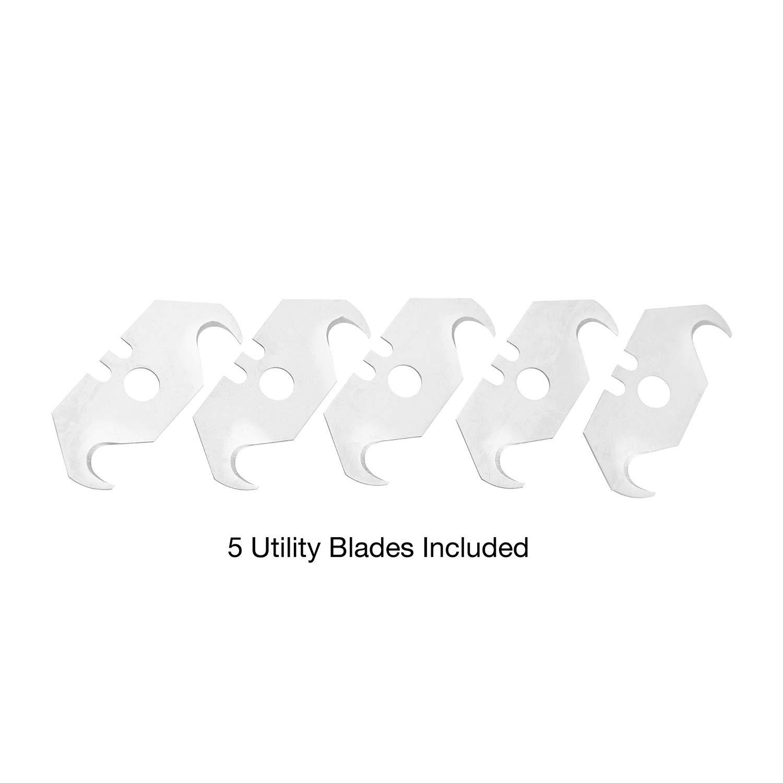 Sheffield/® 12852 Hook 5 Utility Blades