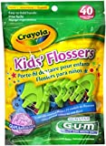 Butler Gum Crayola Dental Flossers For Kids - 40 Ea