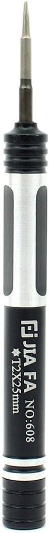 Convenient Family Must-Have Repair Tool Professional JF-608-T2 Torx T2 Mobile Phone Repair Screwdriver for Phone