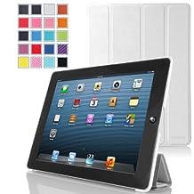 iPad Mini 1 / 2 / 3 Case, MoKo Ultra Slim Smart shell Cover Case for Apple iPad Mini 1 (2012), iPad Mini 2 (2013), iPad Mini 3 (2014), WHITE (Will not fit iPad Mini 4)