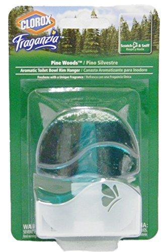 e Wood Aromatic Toilet Bowl Rim Hanger, 1.85 Ounces (Pack of 3) (Pine Rim)