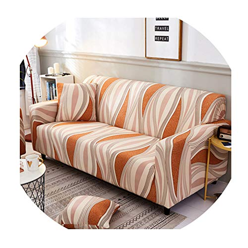 Cross Pattern Elastic Stretch Universal Sofa Covers Sectional Throw Couch Corner Cover Cases for Furniture Armchairs Home Decor,13,Four Seat Sofa