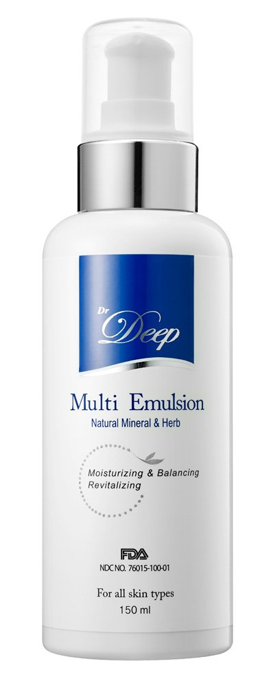 Dr.Deep Multi Emulsion(5.28 fl.oz) Deep Moisturizing Plant Extract Oil Included Soothing Emulsion Helps Alleviate itchiness caused from dryness