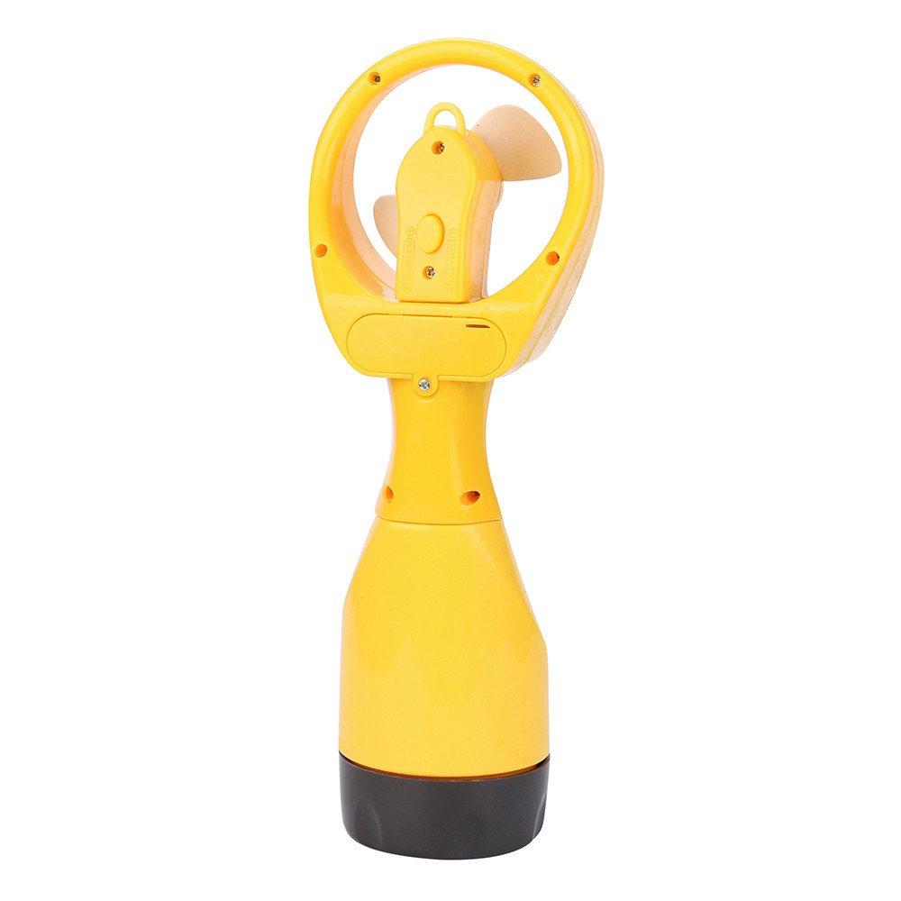 Agua en Spray ventilador nuevo ventilador refrigeració n agua frí a Spray de mano portá til portá til con vaporizador niebla viajes playa lanspo