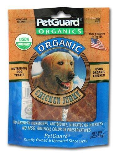 Petguard Chicken Jerky Dog Treats 3 Oz (Pack of 2) by PetGuard