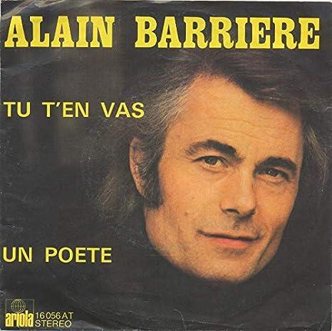 Alain Barrière Und Noëlle Cordier - Tu TEn Vas - Ariola - 16 056 ...