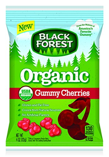 Black Forest Organic Gummy Cherries Candy