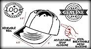 Funny Guy Mugs Merica FCK Yeah Trucker Hats - Adult - Unisex - Adjustable