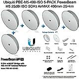 Ubiquiti PBE-M5-400-ISO 5-PACK PowerBeam M5 25dBi ISO 5GHz AirMAX 400mm 25+km