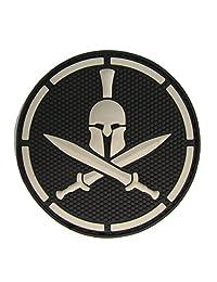 MIL-SPEC Spartan Helmet PVC Patch Swat