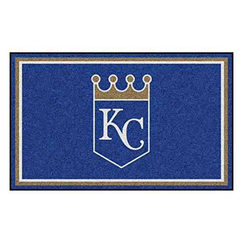 - FANMATS MLB Kansas City Royals Nylon Face 4X6 Plush Rug