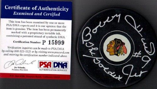 PSA/DNA Bobby Hull #9