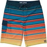 Billabong Boys' All Day X Stripe Boardshorts Blue 3T