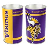 NFL Tapered Wastebasket NFL Team: Minnesota Vikings