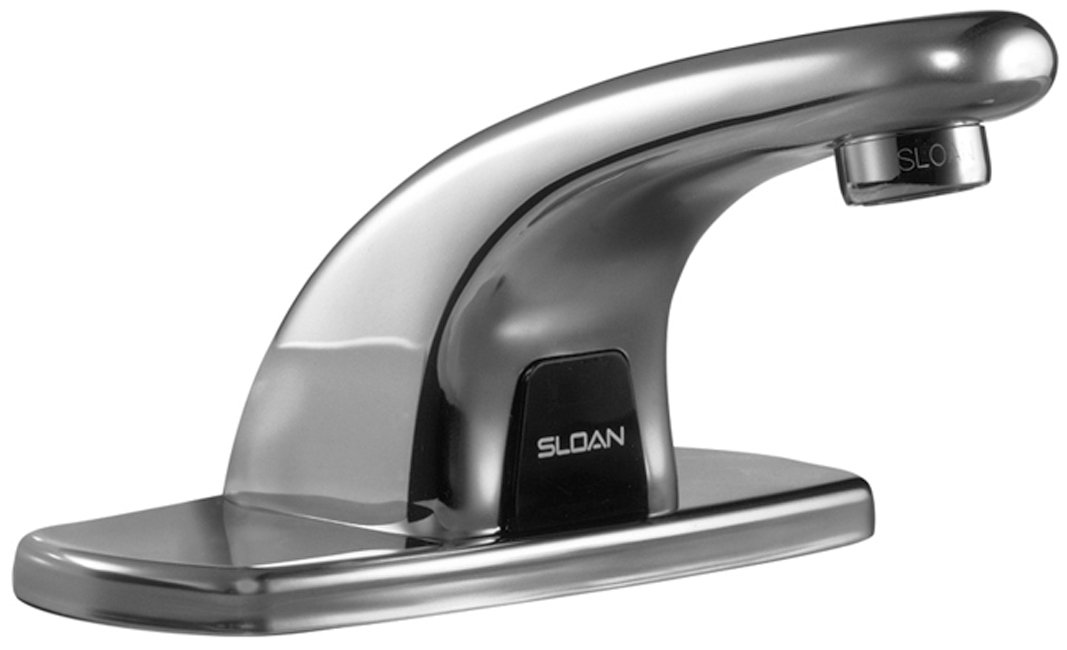 Sloan Valve EBF-615-4 Optima Plus Battery Powered Sensor Activated ...
