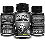 Primal Rampage Natural Male Pills - Enlargement Booster Increases Energy, Mood & Endurance