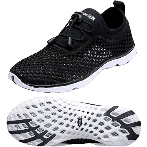 Quick Aqua Drying Shoes Blackwhite Zhuanglin Water Women's TgSA1W75
