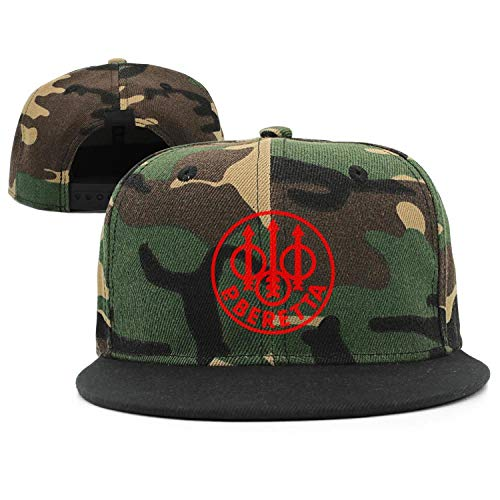 Cool Beretta-Logo- Snapback Hats Street Dancing mesh Caps