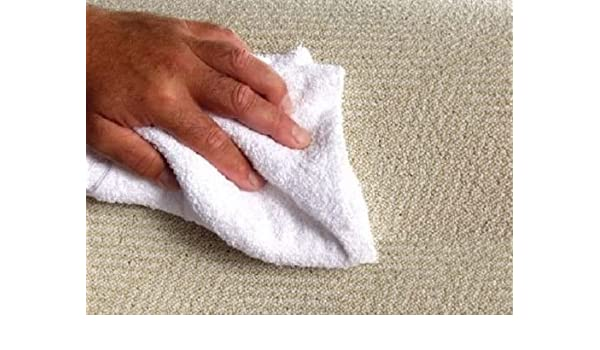 20 new white 12x12 100/% cotton terry shop towels soft absorbent cleaning towels