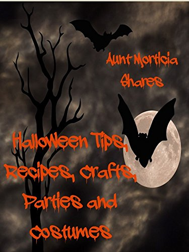 Halloween Tips, Recipes, Crafts,  Parties and (Morticia Child Costumes)