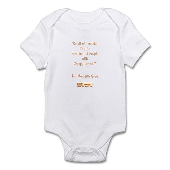 Amazon.com  CafePress Crappy Lives Infant Bodysuit Baby Bodysuit  Clothing 332bf695c