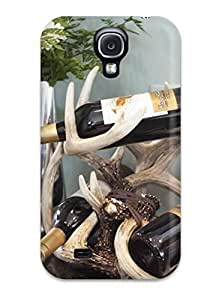 Snap-on Antler Wine Rack In Robin8217s Egg Blue Kitchen Case Cover Skin Compatible With Galaxy S4