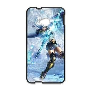 HTC One M7 Phone Case Cover Black League of Legends Ashe 06 EUA15982665 Custom Phone Cases Clear