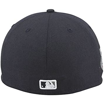 innovative design 1d330 4de87 Amazon.com   MLB New Era New York Yankees 2008 Cooperstown All-Star Patch  59FIFTY Fitted Hat - Navy Blue (8)   Baseball Caps   Sports   Outdoors