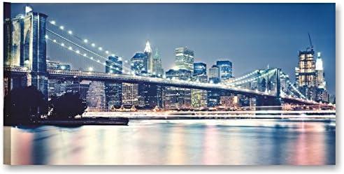 QUADRI MODERNI PER ARREDAMENTO CASA E UFFICIO QUADRO NEW YORK BRIDGE VI