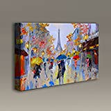 Acoustimac Acoustic Art Panels : 3'x2'x2'' - Paris in the Rain