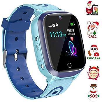 Amazon.com: Kids Smart Watch GPS Tracker - Waterproof GPS ...
