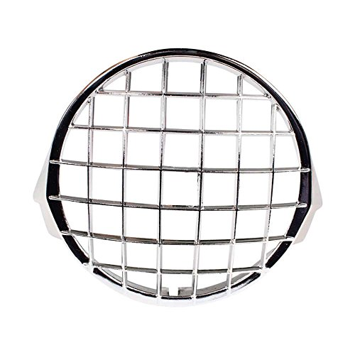 Cuppini Headlight Stone Guard (Chrome); Stella, P Series