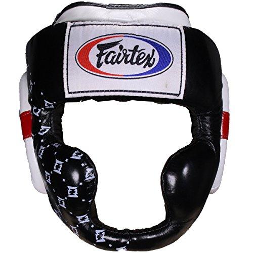 Fairtex HG10 Headguard - Black - Medium