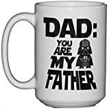 Dad - You Are My Father - Funny Pop Culture Coffee Mug - Fathers Day Gift
