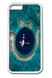 iPhone 6 Case,[Perfect-Fit] iPhone 6(4.7) Slim Hard PC Clear Case Protector Cover for New iPhone 6 Satellite Ocean Pictures