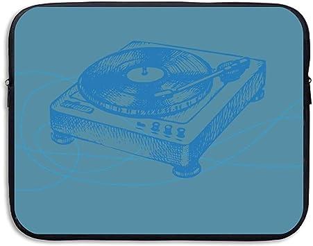Bolso para computadora Estuche para computadora portátil Manga Delgada Música Vinilo Tocadiscos LP Disco de grabación Impermeable 15 Pulgadas: Amazon.es: Electrónica