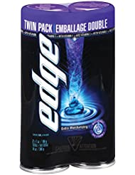 Edge Shave Gel for Men Extra Moisturizing Twin Pack...