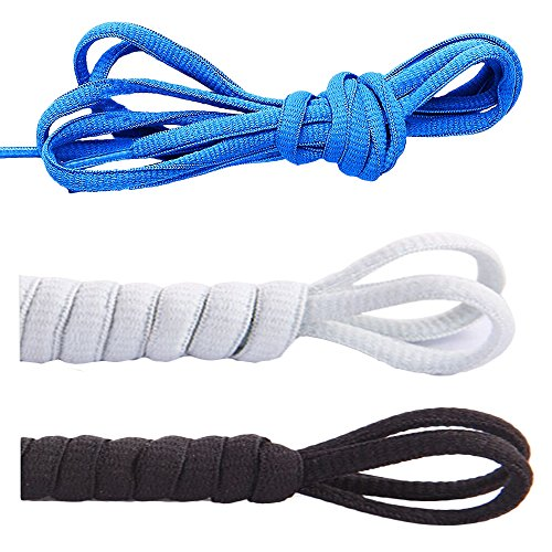 Armani Ballerina - [3 Pairs]Oval Shoelaces,CaseHQ Flat Braided Shoe Laces Half Round 1/4