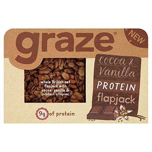 Graze Cocoa & Vanilla Protein Flapjack (54g x 9)
