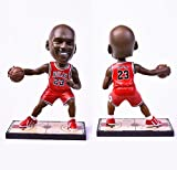 Top Quality Chicago Bulls MVP 23# Resin Michael Jordan,Moving Basketball Bobble Head Action Figure,Souvenir,Birthday Gifts,Christmas Gifts,Sports Fan Collection,19cm