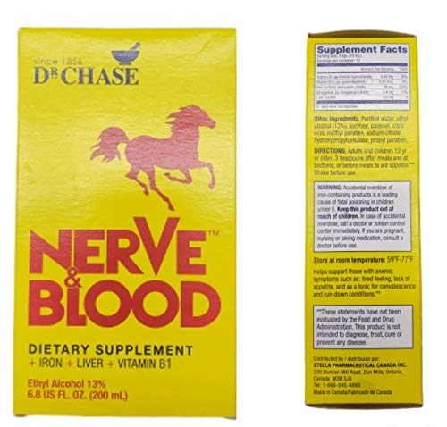 Dr Chase Nerve Dietary Supplement