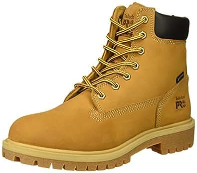 """Timberland PRO Womens TB0A1RWC231 Direct Attach 6"""" Soft Toe Waterproof Yellow Size: 5.5"""