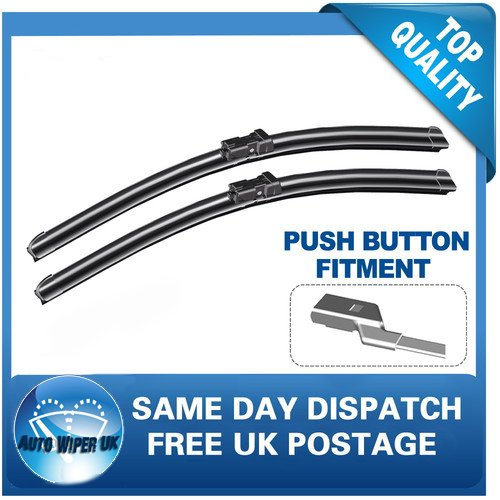 SKD-FAB Windscreen Wiper Blades x 2 Front Set Fits to REG 2015 TO 2016