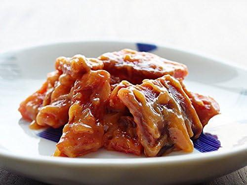 紅鮭トバみそ漬 200g (サケトバを秘伝の調味料に漬けた柔らかいさけとば) 味噌の甘さと唐辛子の辛さが絶妙 (北海道を代表するべに鮭を使った海鮮珍味) おかずやお酒のおつまみに!