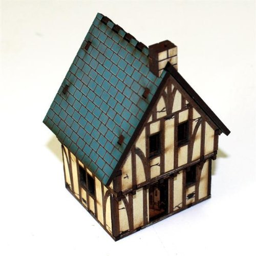 Renaissance & ECW - Buildings 15mm Timber Framed Cottage -