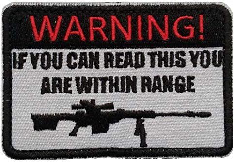 (LOLO IMPORT) WARNING ミリタリー 刺繍 ワッペン