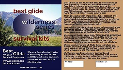 Best Glide ASE Wilderness Survivor Survival Kit (Black) by Best Glide ASE (Image #2)