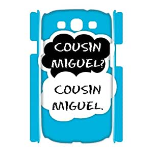 Hjqi - DIY Teen Wolf 3D Plastic Case, Teen Wolf Unique Hard Case for Samsung Galaxy S3 I9300