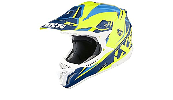 Amazon.es: IXS HX 179 Flash Cross Casco de motocross Tri
